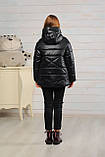 Демисезонная бирюзовая куртка для девочек Лола, фото 8