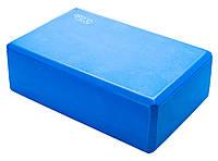 Блок для йоги 4FIZJO 4FJ1394 Blue, фото 1