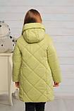 Демисезонная удлиненная куртка для девочек  Кейт, фото 3