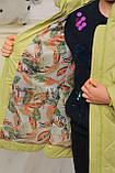 Демисезонная удлиненная куртка для девочек  Кейт, фото 7