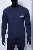 Кофта свитшот трикотажная мужская 630641_8 синяя