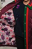 Стеганное демисезонное пальто для девочки, фото 4