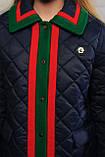 Стеганное демисезонное пальто для девочки, фото 8