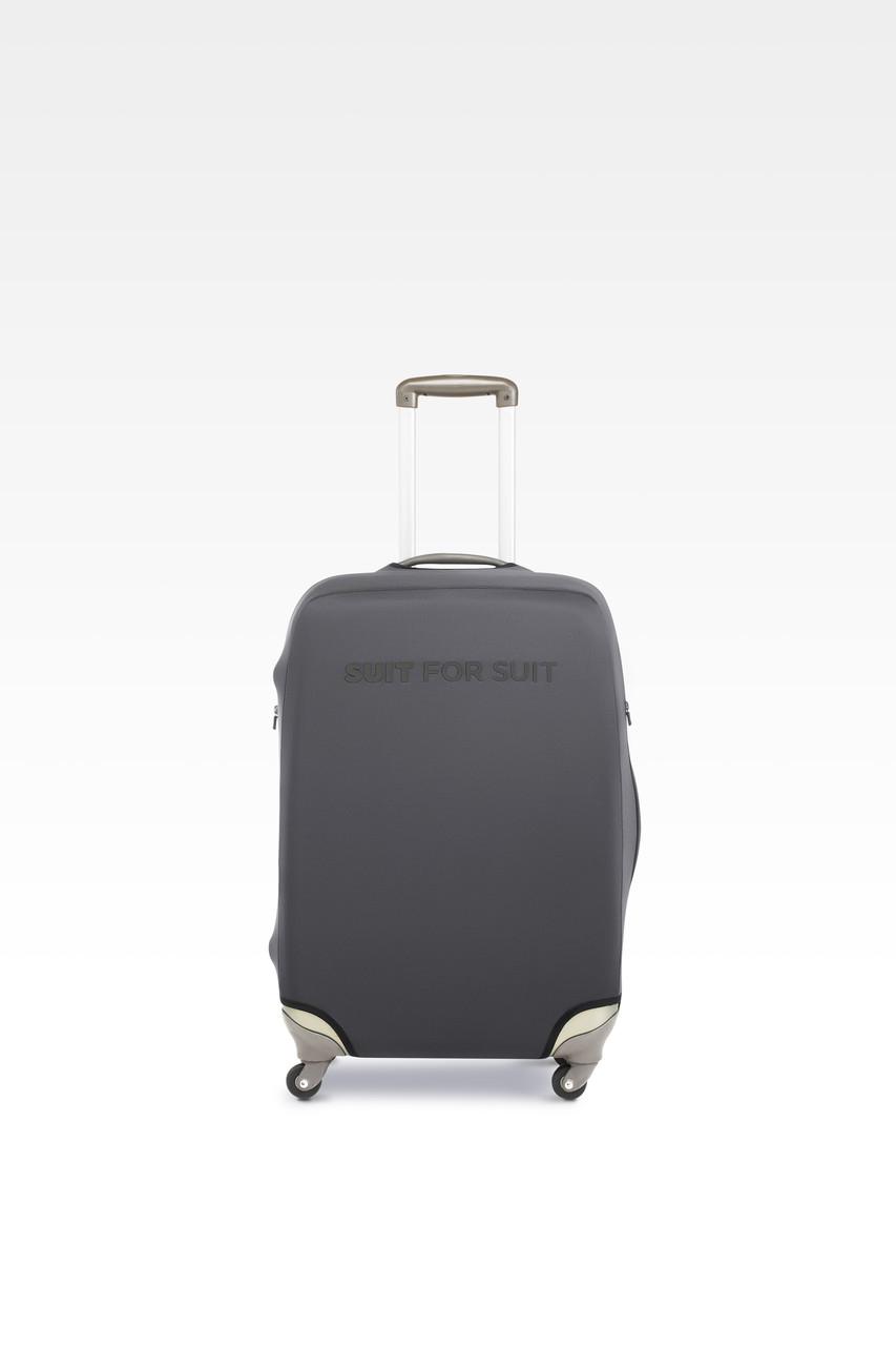 Чехол для чемодана Suit For Suit L Сирый (grafit_l)