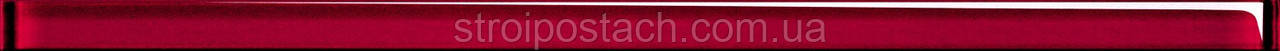 Плитка Opoczno Mirror GLASS RED BORDER фриз