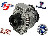 Генератор Scania P,G,R,T серия 80 ампер на тягач на грузовой автомобиль грузовик  0124555008 запчасти Скания