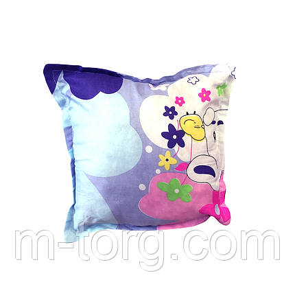 Подушка для декоративной наволочки 40/40, силикон, фото 2