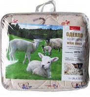 Детское одеяло закрытое овечья шерсть Поликоттон 110x140 T-51215