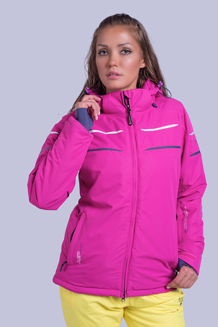 Куртка женская лыжная Avecs M Малиновая (8629/3 - m)
