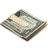 Зажим для денег Gold chess, фото 3
