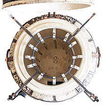 Тандыр бытовой Люкс-3 на 75 литров. Дизайн «Античный», фото 2
