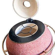 Тандыр Утепленный на 60 литров. Дизайн «Мраморная крошка», фото 3