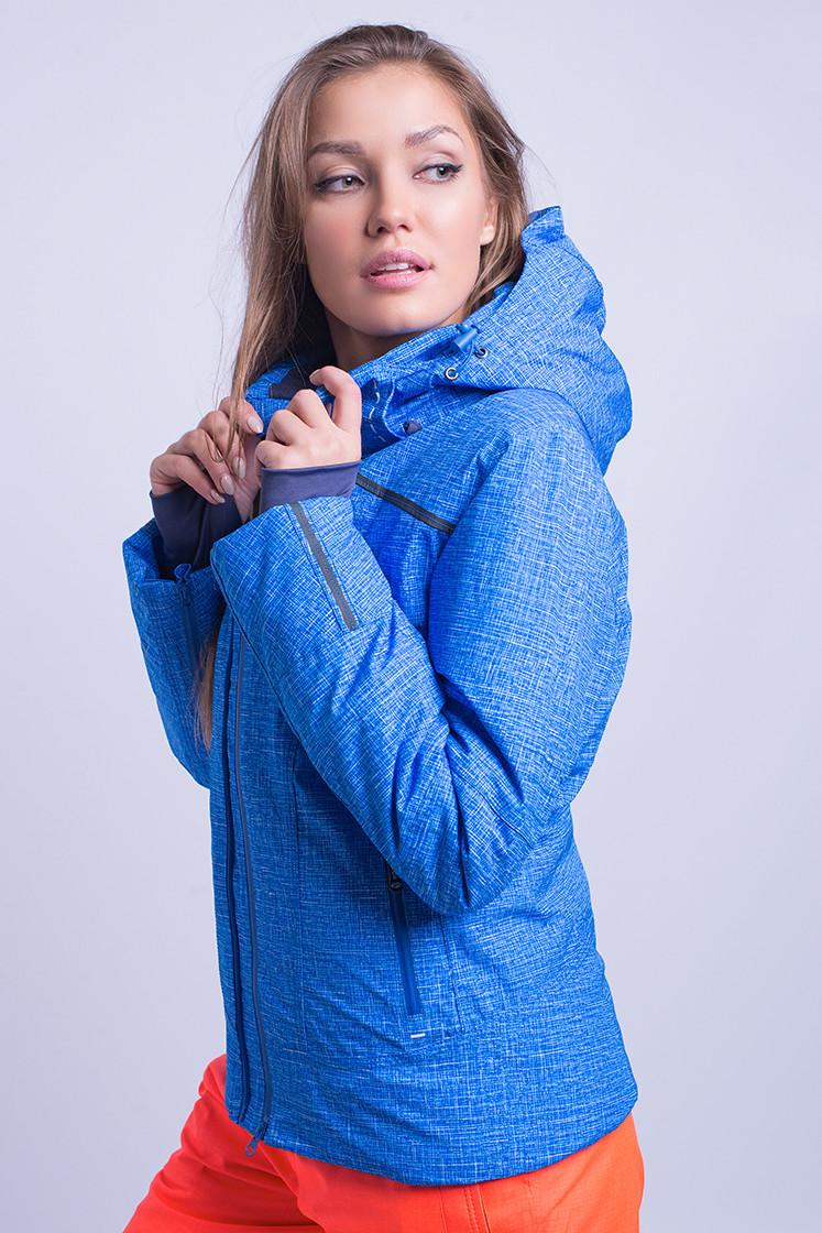Куртка женская лыжная Avecs L Голубая (8683 - l)