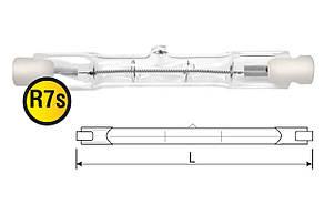 Лампа галогеновая линейная R7S 500w 118mm (8500 Lm)