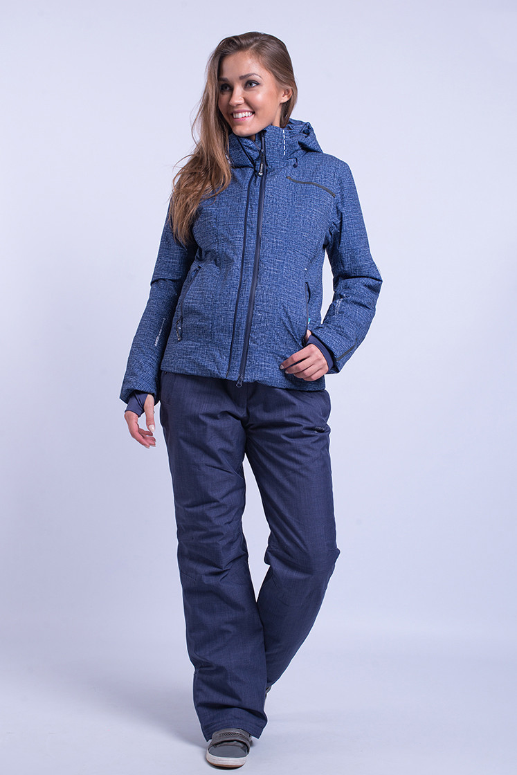 Куртка женская лыжная Avecs S Темно-синяя (8683/2 - s)
