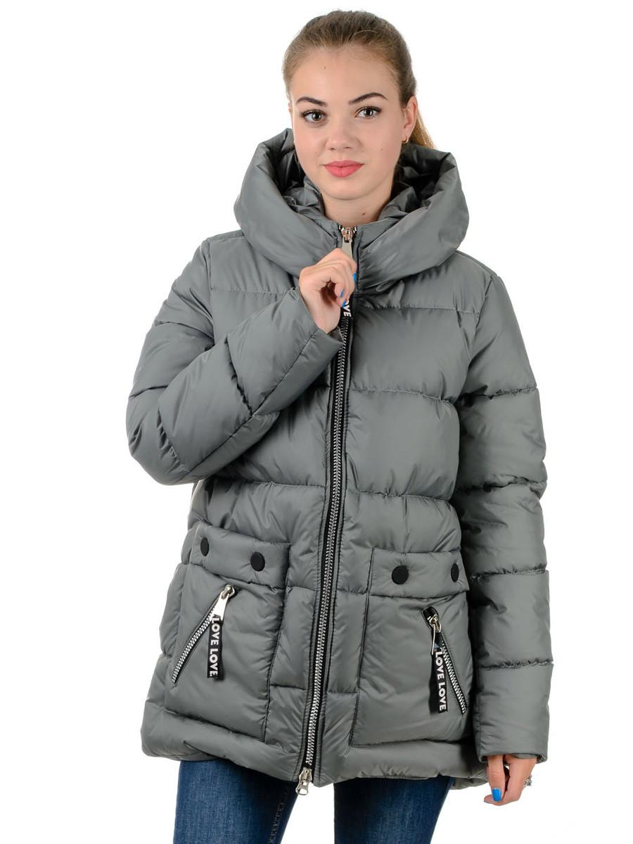 Куртка-пуховик Irvik Z10179 42 Хаки