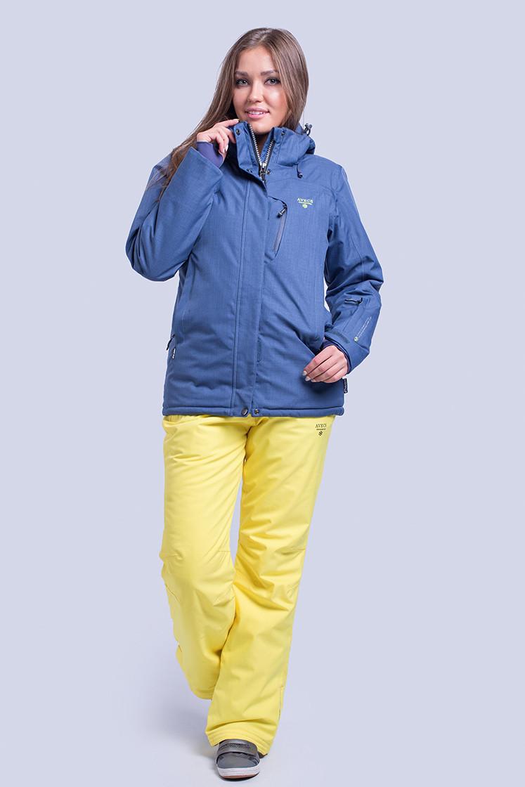 Куртка женская лыжная Avecs S Темно-синяя (8695 - s)