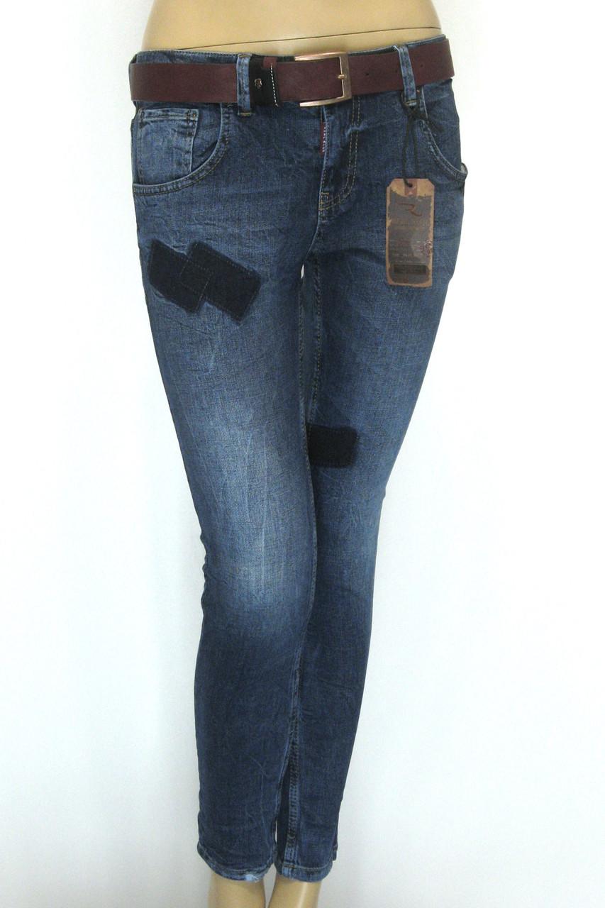 Жіночі джинси  бойфренди Real Blue