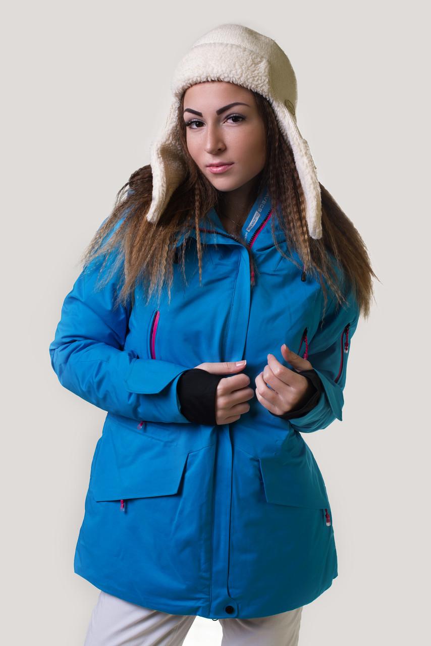 Куртка женская лыжная Avecs 50 Голубая (5766462 - 50)