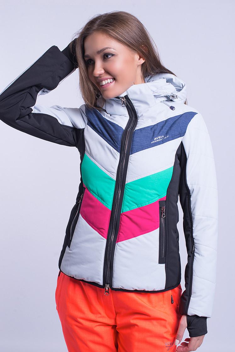 Куртка женская лыжная Avecs XXL Зеленый с малиновым (8693 - xxl)