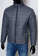 Куртка мужская демисезонная FR 1592 серая реплика
