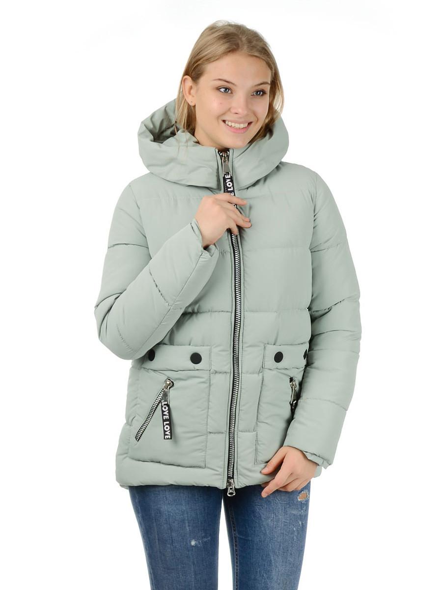 Куртка-пуховик Irvik Z10178 44 Оливковый