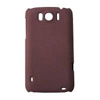 Чехол-накладка Drobak Shaggy Hard для HTC Sensation XL X315e (Red)