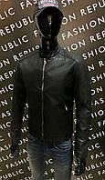Куртка мужская демисезонная кожзам GS 953387