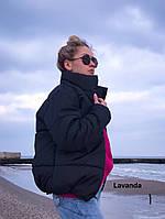 Стеганная объемная куртка женская (0195), фото 1