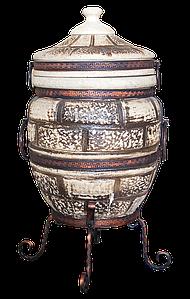 Тандыр Престиж-2 на 60 литров. Дизайн «Кирпич»