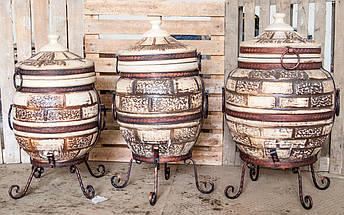 Тандыр Престиж-2 на 60 литров. Дизайн «Кирпич», фото 3