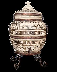 Тандыр Престиж-3 на 80 литров. Дизайн «Античный»