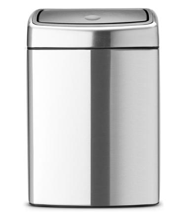 Ведро для мусора Brabantia Touch Bin 10 л (477225)