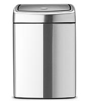 Ведро для мусора Brabantia Touch Bin 10 л (477225), фото 1
