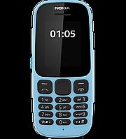 Телефон Nokia 105 NEW dual Blue  '3