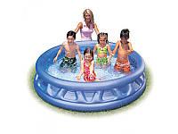 Детский надувной бассейн Soft Side Pool 58431 Intex