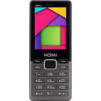Телефон Nomi i241+ Metal Dark Gray