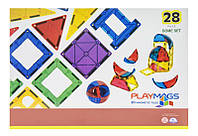 Акция! Конструктор Playmags магнитный набор 28 эл. PM164 [Скидка 5%, при условии 100% предоплаты!]