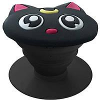 Попсокет PopSocket PopMobiStand Объемный Лунный Кот Держатель Для Телефона (114)