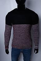 Свитер мужской плотный Figo 074818157-1 черный
