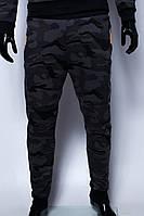 Спортивные штаны мужские трикотажные манжет GS 29574 камуфляж