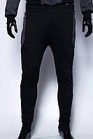 Спортивные штаны мужские утепленные GS 7969 манжет черные