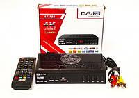 DVB-Т2 AT-789 TV тюнер Т2 4K 3D приемник для цифрового ТВ Terrestrial