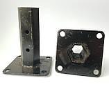 Ступица полуоси шестигранная мотоблока 32 мм длина 14 см, фото 3