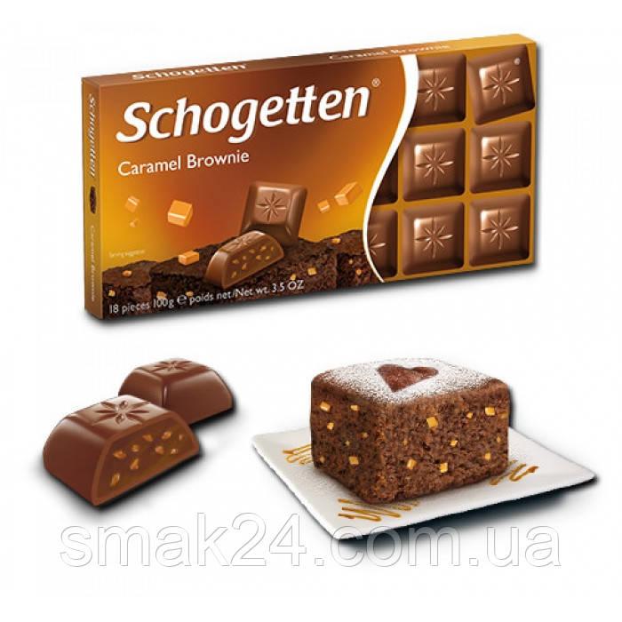"Шоколад ""Schogetten Caramel (""Шогеттен Карамель""), 100г, Германия"