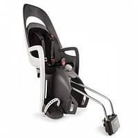 Детское велокресло HAMAX CARESS серо/белое чёрное