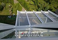 Крыша стеклянная