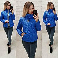 Демисезонная куртка 2019 ,арт. 502, цвет электрик, фото 1
