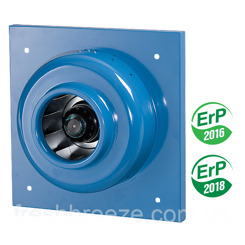 Канальный центробежный вытяжной вентилятор для монтажа на стену Вентс вц-вн 250