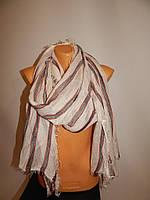 Палантин - шарф фирменный женский легкий BSB JEANS 004ш